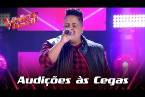 Nina Black representa Nilópolis no The Voice Brasil